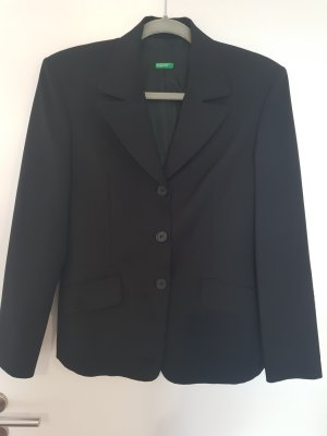 Benetton Veste de smoking noir