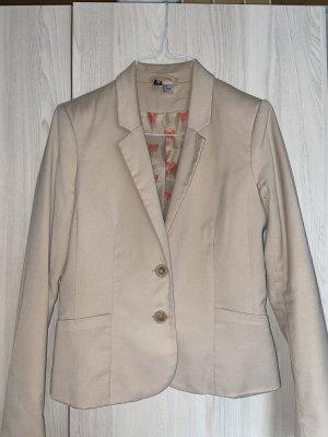 H&M Blazer sweat beige clair-beige