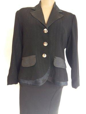 Wool Blazer black wool