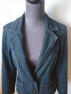 Zagora Blazer en jean bleu pâle-bleu