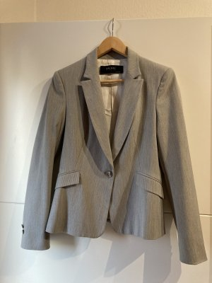 Zara Basic Blazer de esmoquin color plata