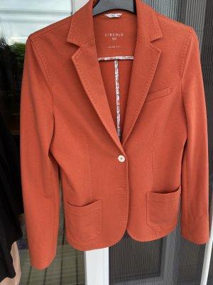 Circolo Blazer in jersey rosso chiaro-salmone