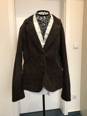 Street One Blazer stile Boyfriend marrone scuro