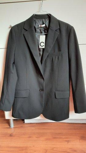 Cubus Blazer in jersey nero