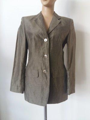 Laurèl Sweat Blazer green grey linen