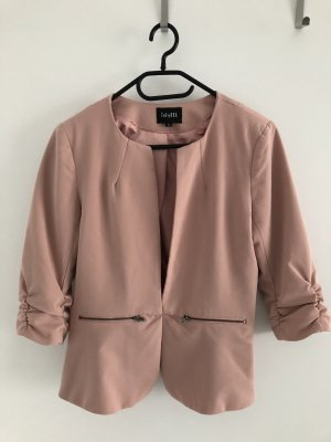 Noisy May Klassischer Blazer rosa pallido