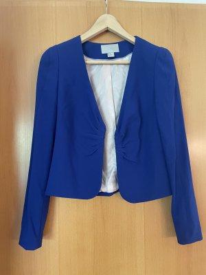 H&M Korte blazer blauw