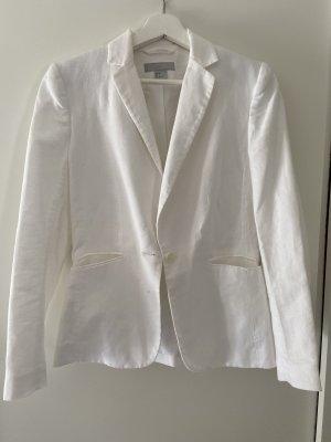 H&M Jersey blazer wit