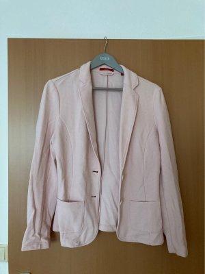 s.Oliver Blazer de tela de sudadera rosa