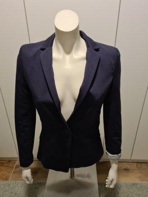 H&M Klassischer Blazer donkerblauw