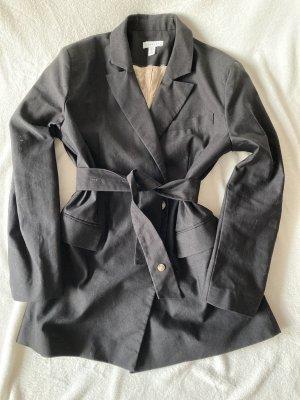 Topshop Lange blazer zwart