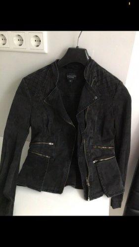 Comma Blazer in jeans nero-antracite