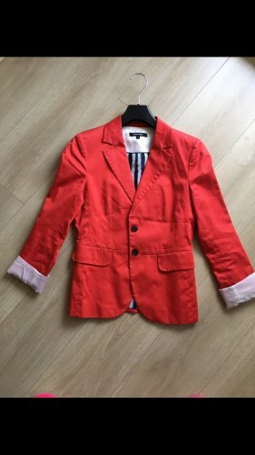 More & More Jersey blazer rood