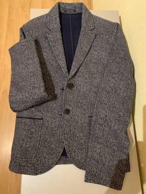 Marc O'Polo Jersey Blazer dark blue-light grey