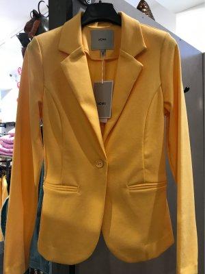 Ichi Jersey Blazer yellow