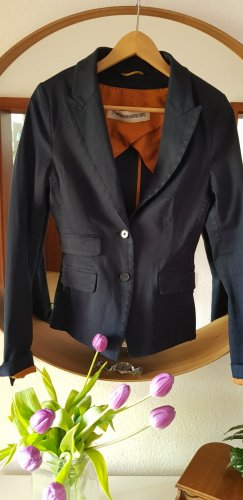 Drykorn for beautiful people Jersey Blazer cognac-coloured-dark blue