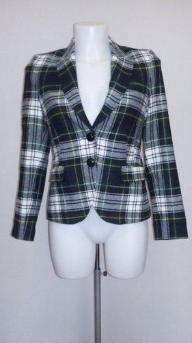 Drykorn Wool Blazer white-green