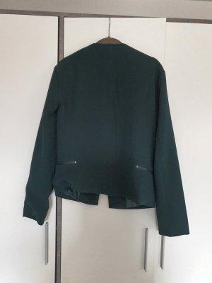Only Jersey Blazer verde oscuro