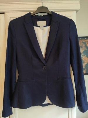H&M Klassischer Blazer dark blue