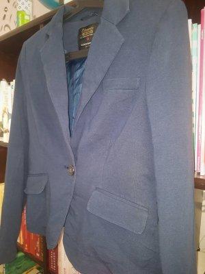C&A Clockhouse Blazer de tela de sudadera azul acero