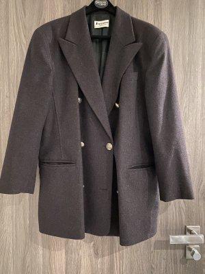 Antonette - Franz Haushofer Long Blazer dark grey