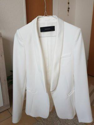 Zara Basic Blazer de esmoquin blanco