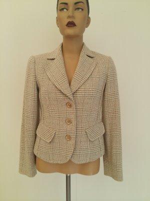 Biba Wool Blazer beige cotton