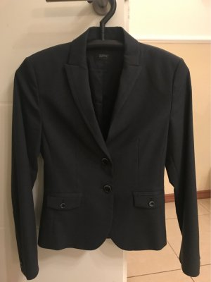 esprit collection Tuxedo Blazer anthracite-dark grey acetate