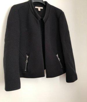 Esprit Blazer en jersey noir