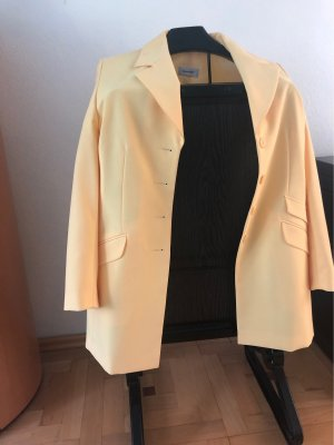 Amalfi Blazer long jaune primevère-orange doré