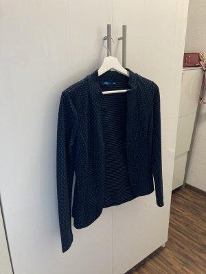 Tom Tailor Jersey Blazer azul oscuro