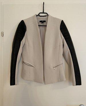H&M Klassischer Blazer beige-black