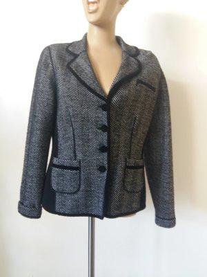 Basler Blazer en laine noir-gris foncé laine