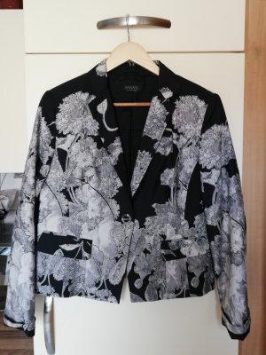 Apanage Krótka kurtka czarny-kremowy