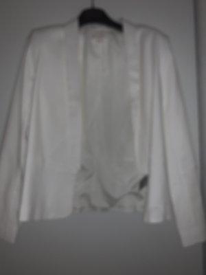 H&M Blazer court blanc