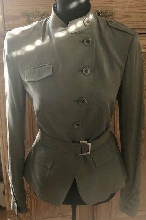 Divina Long Blazer khaki