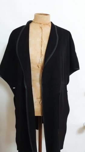 Only Fashion Leren blazer zwart