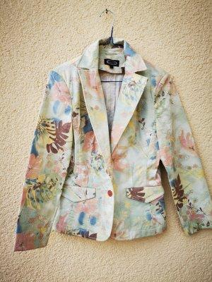 Cecilia Classics Chaqueta tipo blusa multicolor