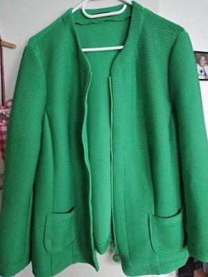 Frank Walder Jersey Blazer green