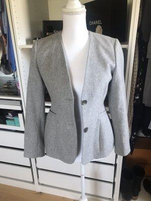 Gant Wollen blazer grijs