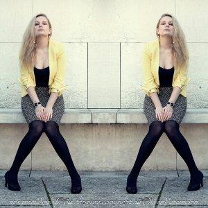 Pimkie Korte blazer geel