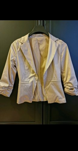 Jersey Blazer gold-colored