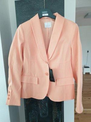 White Label Blazer de esmoquin rosa