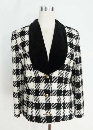 True Vintage Blazer de lana multicolor Lana