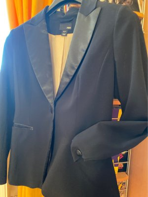 H&M Garden Collection Tuxedo Blazer black