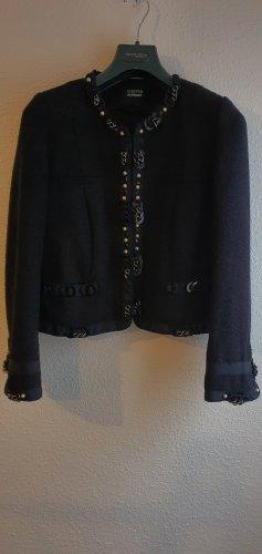 Steffen Schraut Tweed Blazer black