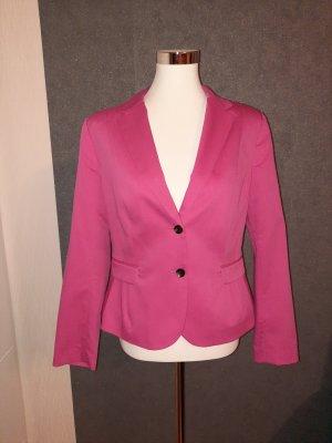 H&M Blazer de esmoquin rosa