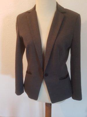 H&M Blazer in jersey grigio