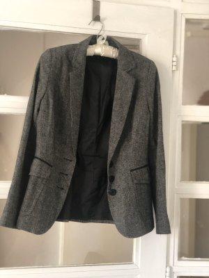 Blazer grau / schwarz