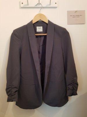 Blazer / grau / taubenblau / Business